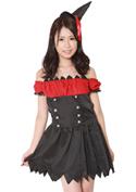 Costume Collection パーティーナイトドレス(P-004)パイレーツ/ブラック