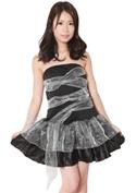 Costume Collection パーティーナイトドレス(P-005)ゾンビガール/ブラック