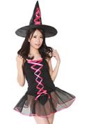 Costume Collection パーティーナイトドレス(P-008)魔女っ娘/ブラック