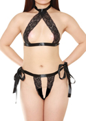 Lingerie Collection セクシーブラ&パンティセット(S-015)/