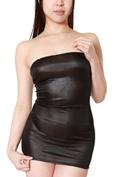 chu-U-chu Lingerie Collection ショートドレス(S-008)ブラック/ブラック