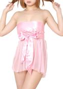 Chu-U-Chu Lingerie Collection ラブリーベビードール(L-032)ピンク/ピンク