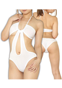 chu-U-chu Lingerie Collection  セクシャルテディー(S-024)ホワイト/ホワイト