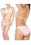 chu-U-chu Lingerie Collection 萌*Girlブラ&紐パン よこしまピンク/ピンク