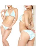 chu-U-chu Lingerie Collection 萌*Girlブラ&紐パン よこしまブルー/ブルー