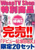 数量限定!!!【WaapTV限定】 桐島りおんデビュー記念BOX/桐島りおん